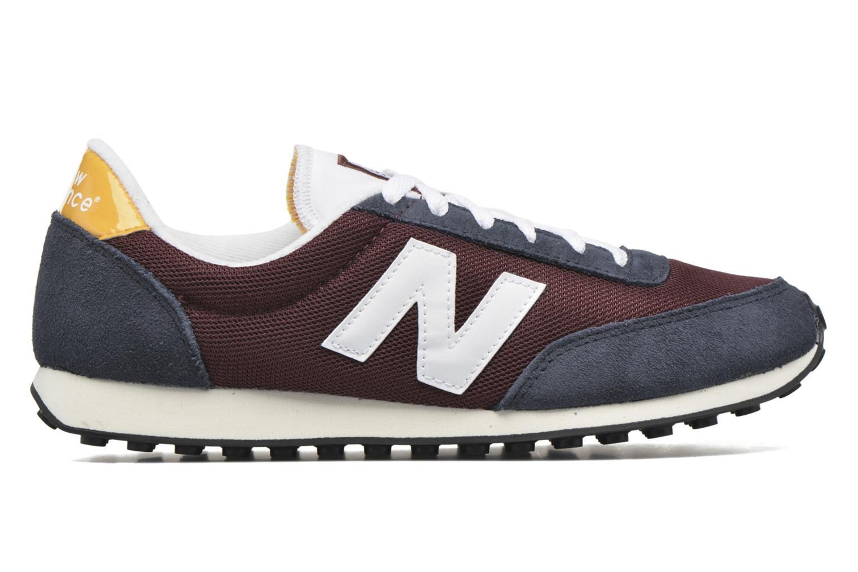 Sneakers New Balance U410 Bordeaux achterkant