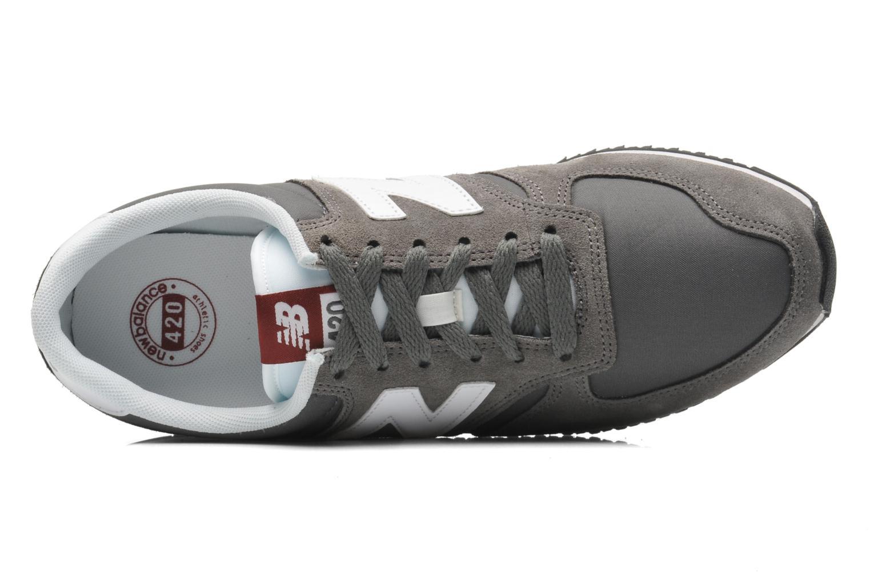 Sneakers New Balance U420 Grijs links