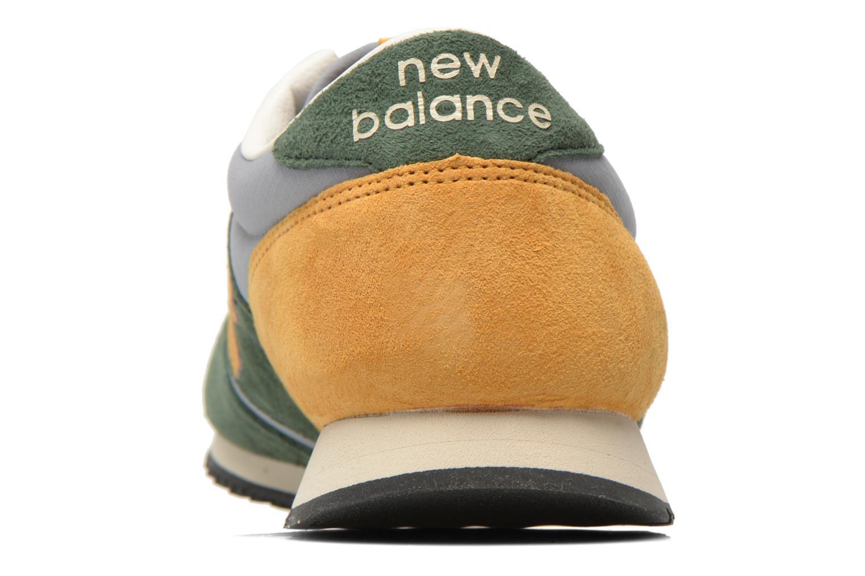 Sneaker New Balance U420 grün ansicht von rechts