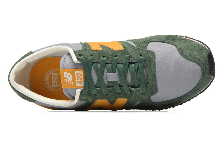 Sneaker New Balance U420 grün ansicht von links