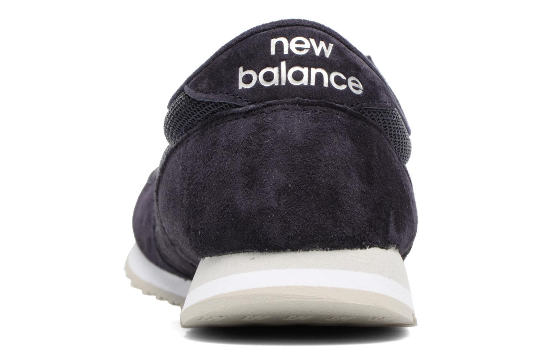 Baskets New Balance U420 Bleu vue droite