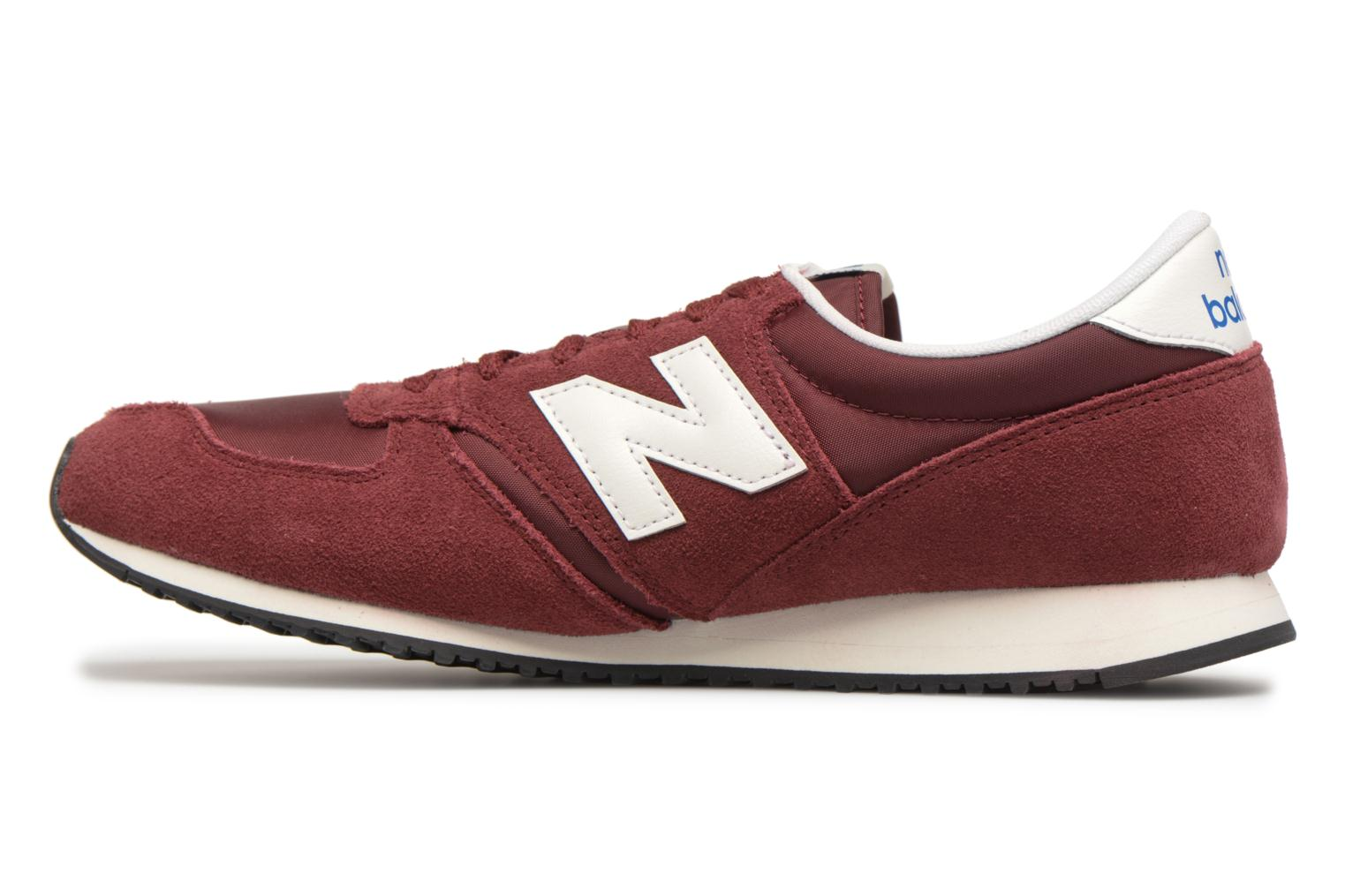 Trainers New Balance U420 Red front view