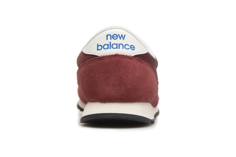 Sneakers New Balance U420 Rød Se fra højre