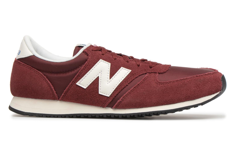 Sneakers New Balance U420 Rood achterkant