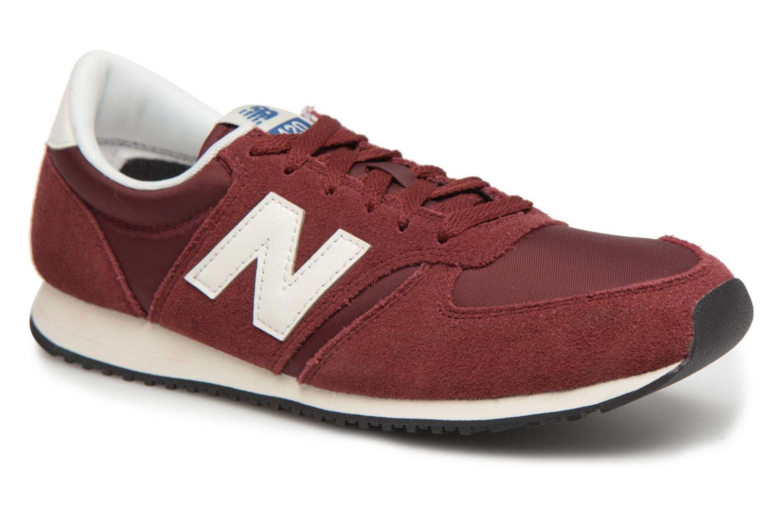 Trainers New Balance U420 Red detailed view/ Pair view