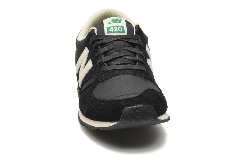 Trainers New Balance U420 W Black model view
