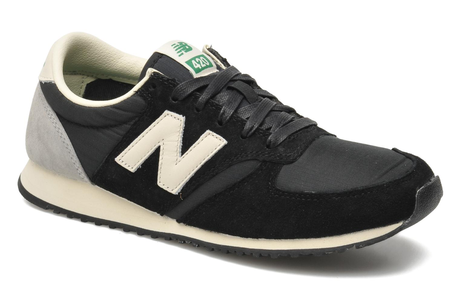 Trainers New Balance U420 W Black detailed view/ Pair view
