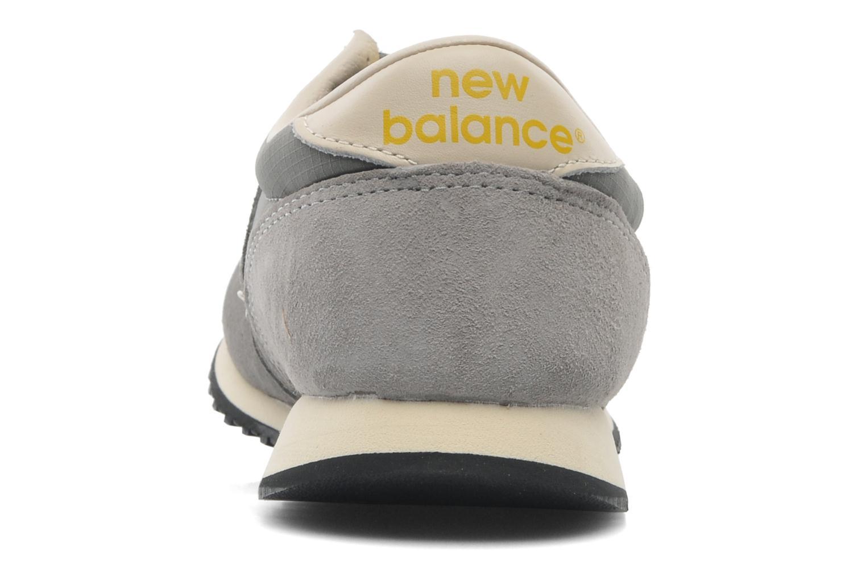 Baskets New Balance U420 W Gris vue droite