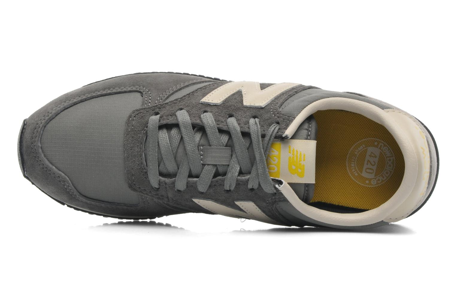 Trainers New Balance U420 W Grey view from the left