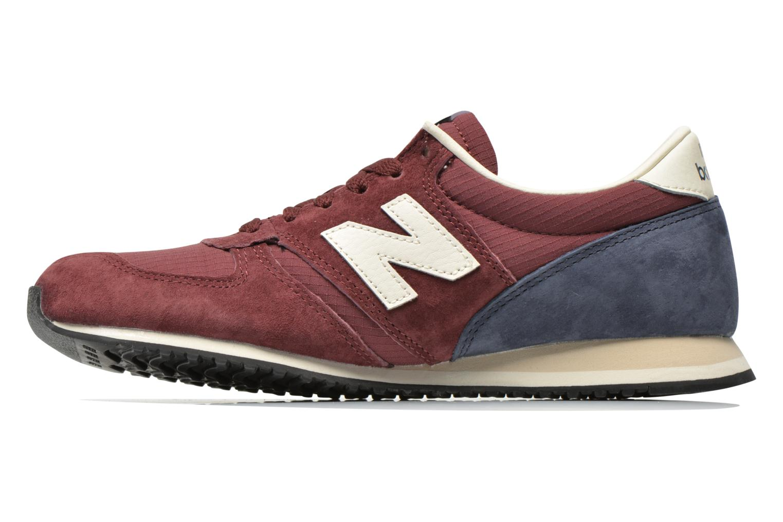 Sneakers New Balance U420 W Bordeaux voorkant