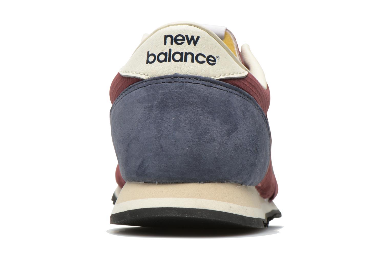 Sneakers New Balance U420 W Bordeaux Se fra højre