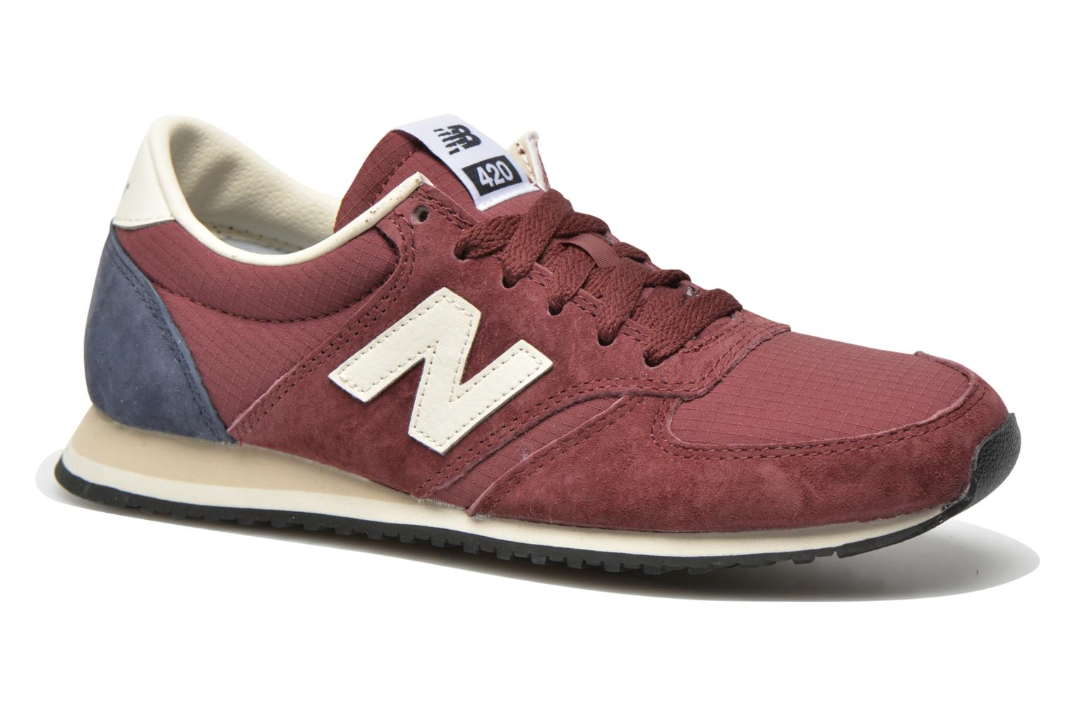 New Balance U 420 RBN Schuhe burgundy-navy-off white - 38 98CcRP
