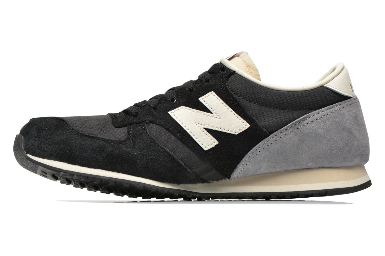 Sneaker New Balance U420 W schwarz ansicht von vorne