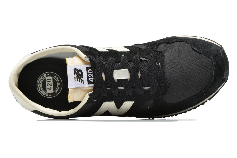 Baskets New Balance U420 W Noir vue gauche