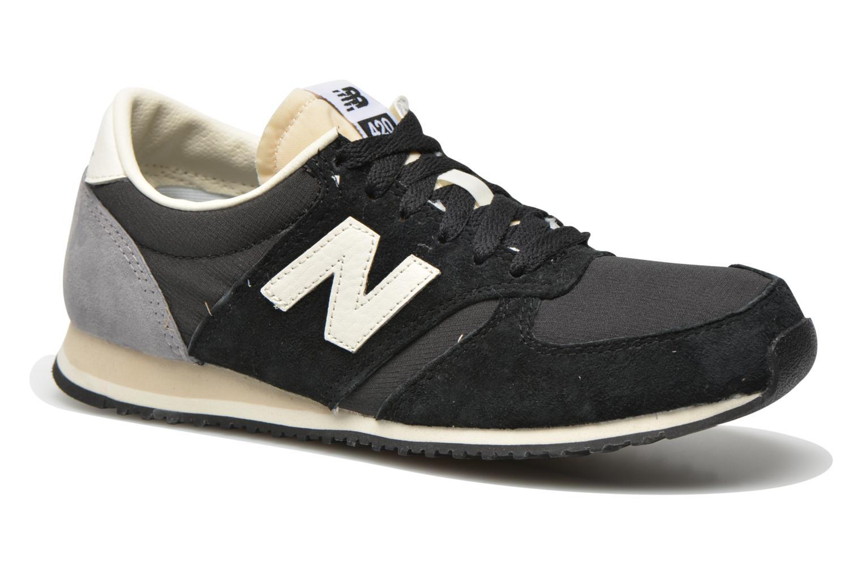 Grandes descuentos últimos zapatos New Balance U420 W (Negro) - Deportivas Descuento