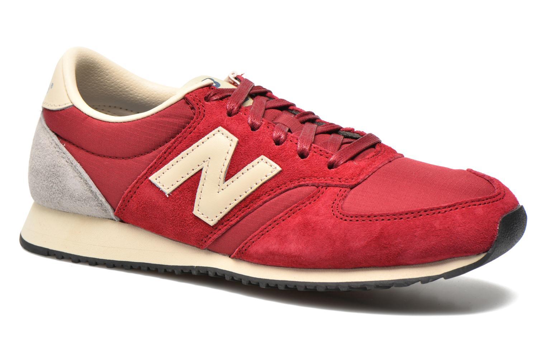Sneaker New Balance U420 W weinrot detaillierte ansicht/modell