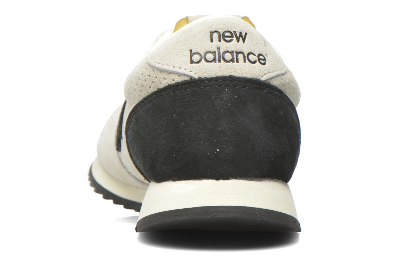 Sneaker New Balance U420 W grau ansicht von rechts