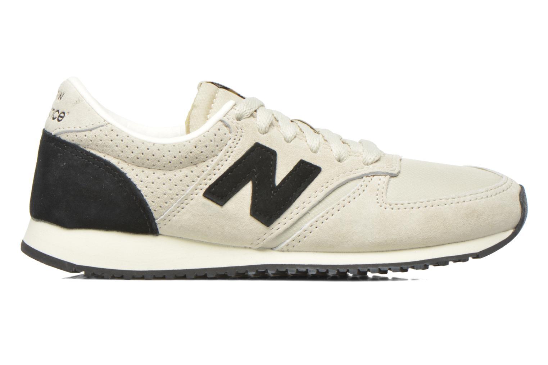 Sneaker New Balance U420 W grau ansicht von hinten