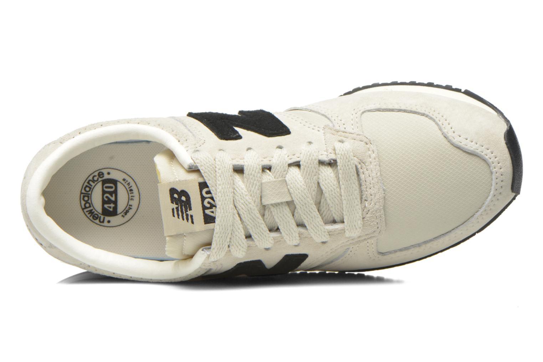 Sneaker New Balance U420 W grau ansicht von links