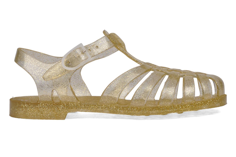 Zapatillas de deporte Méduse Sun W Oro y bronce vistra trasera