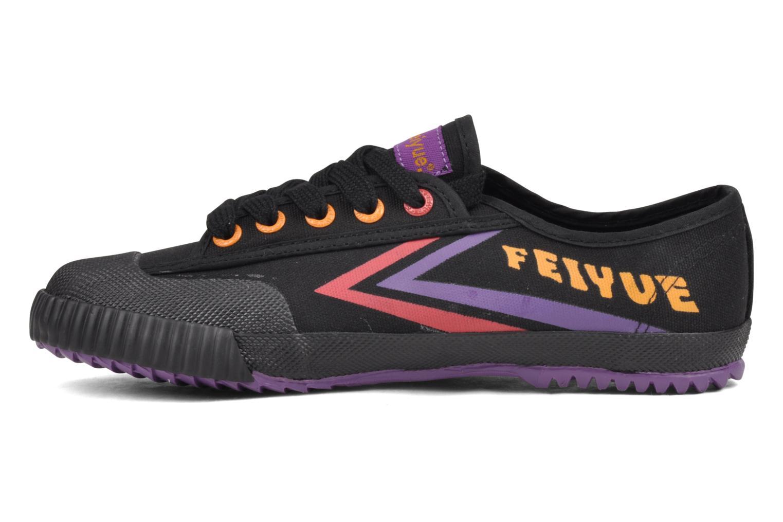 Sneaker Feiyue Fe Lo Male Canvas schwarz ansicht von vorne