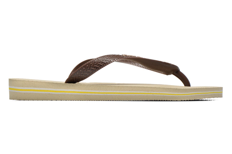 Slippers Havaianas Brasil Logo F Bruin achterkant