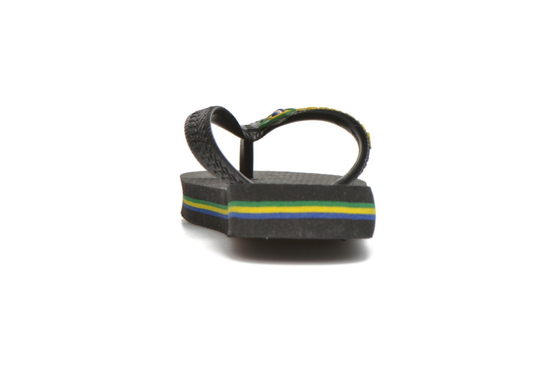 Slippers Havaianas Brasil Logo E Zwart rechts