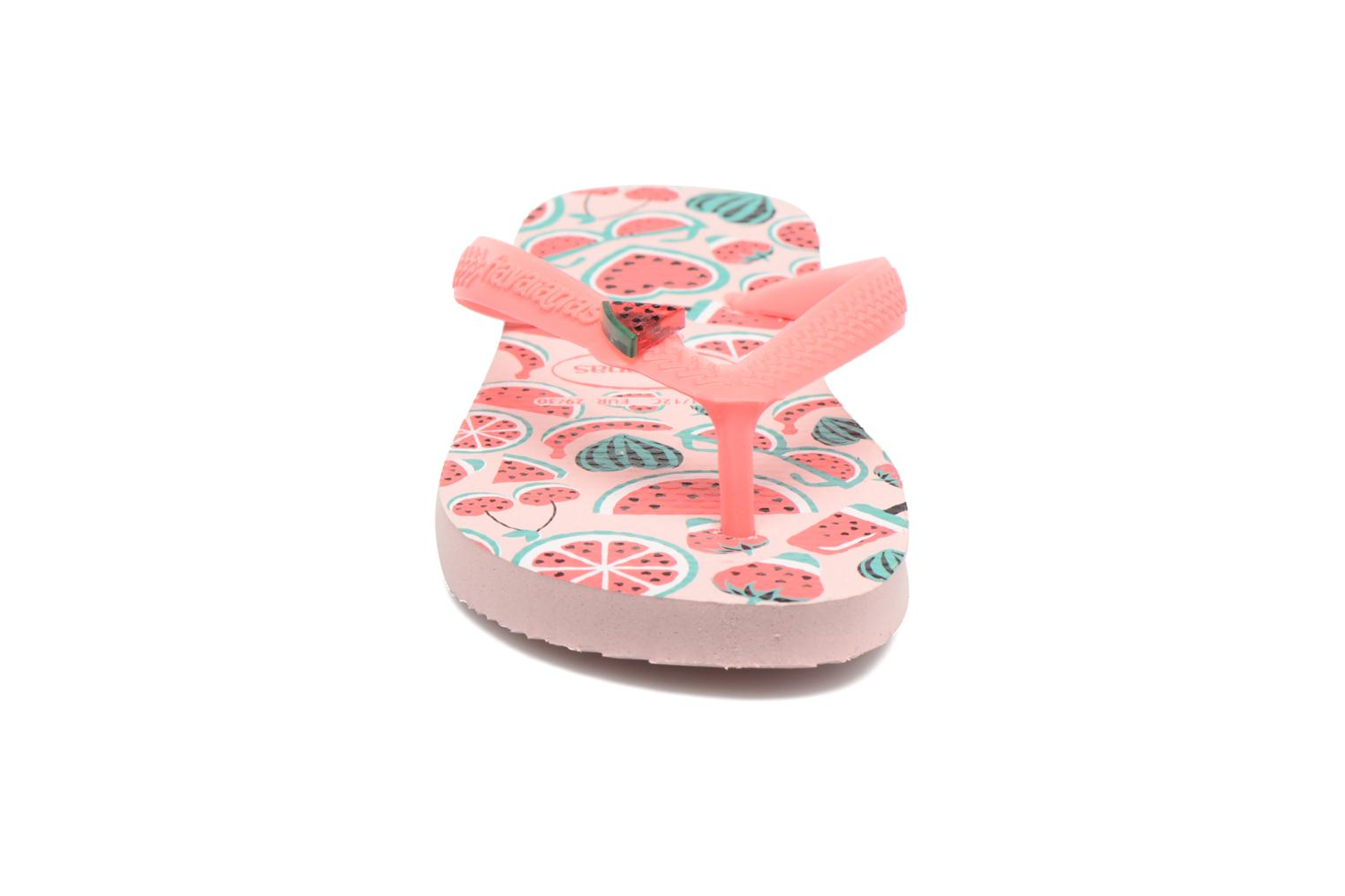 Slippers Havaianas Kids Fun Roze model
