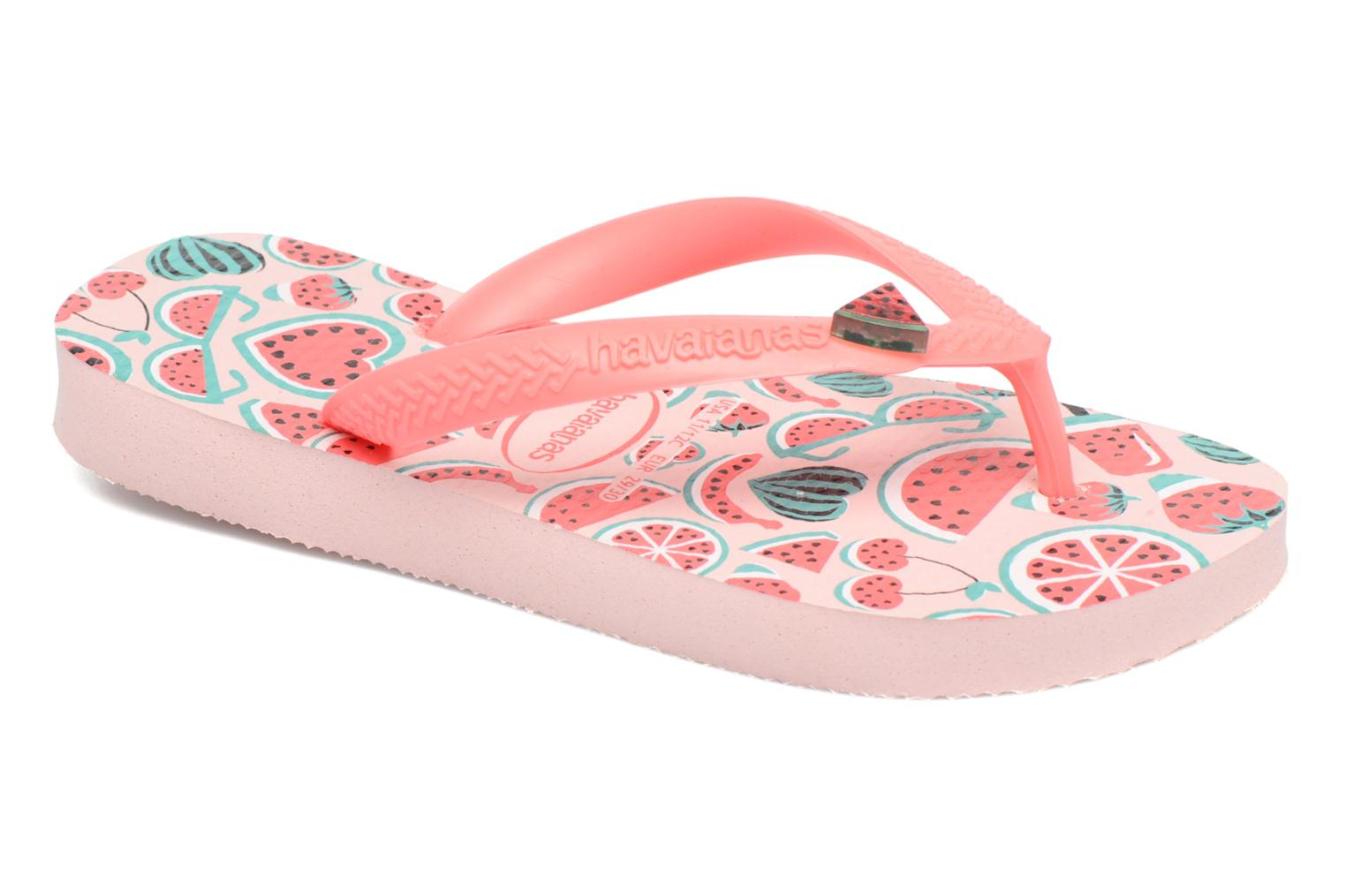 Slippers Havaianas Kids Fun Roze detail