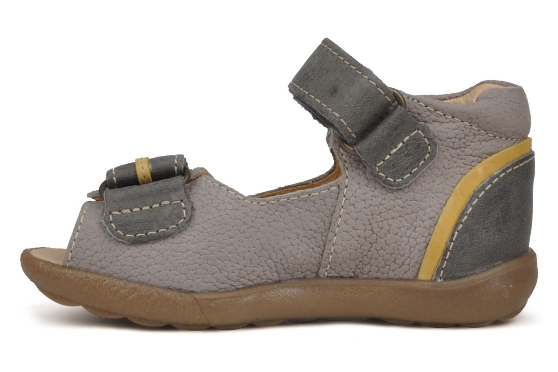 Sandalen Babybotte Tronion grau ansicht von vorne