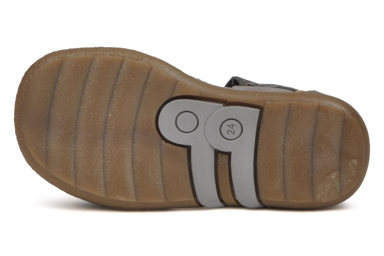 Sandales et nu-pieds Babybotte Tronion Gris vue haut
