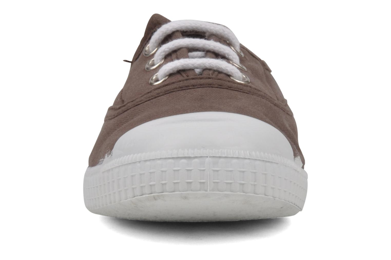 Baskets chipie bis Josepe Marron vue portées chaussures