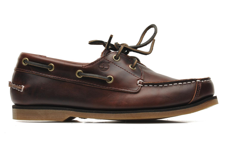 Chaussures à lacets Timberland Boat Shoe Peaks Island E Marron vue derrière