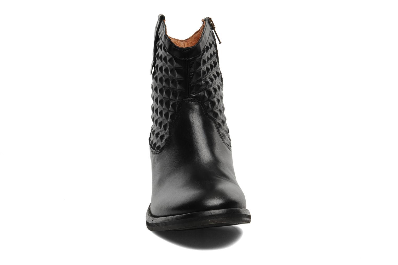 Boots en enkellaarsjes Pastelle Elsa Zwart model