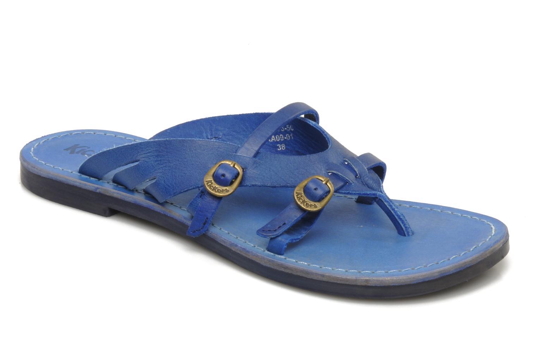 Sandalen Kickers Dilight blau detaillierte ansicht/modell