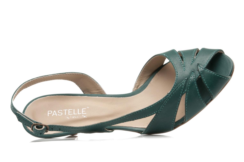Sandali e scarpe aperte Pastelle Bleuet Verde immagine sinistra