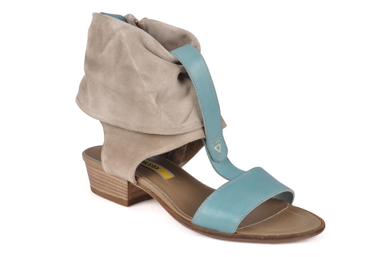 Sandales et nu-pieds Manas Lavori Gris vue détail/paire
