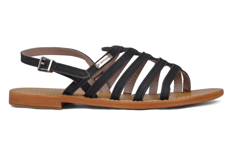 Sandales et nu-pieds Les Tropéziennes par M Belarbi Hook Noir vue derrière