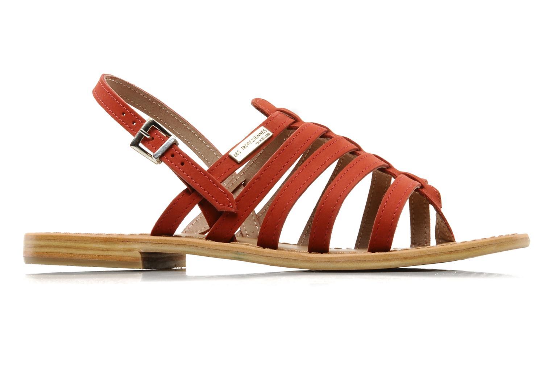 Sandales et nu-pieds Les Tropéziennes par M Belarbi Hook Rouge vue derrière