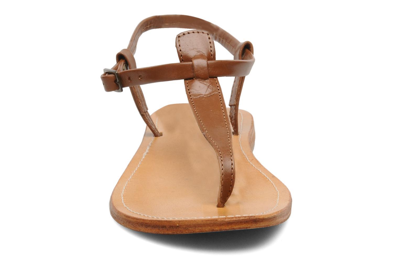 Sandalen Les Tropéziennes par M Belarbi Narvil braun schuhe getragen
