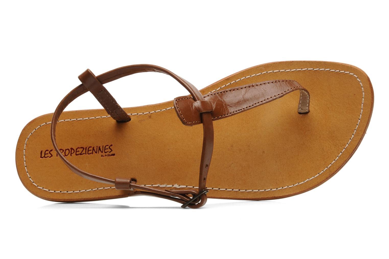 Sandals Les Tropéziennes par M Belarbi Narvil Brown view from the left