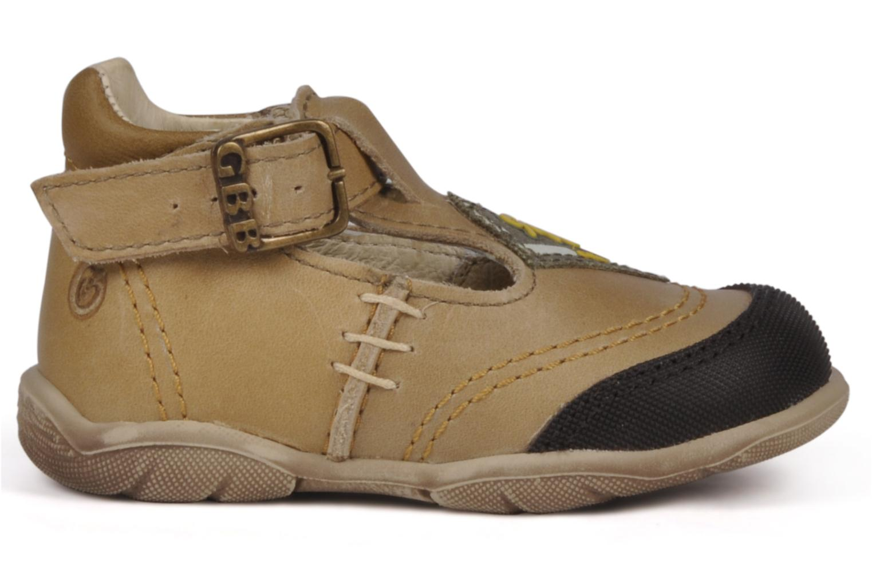 Boots en enkellaarsjes GBB Leopold Bruin achterkant