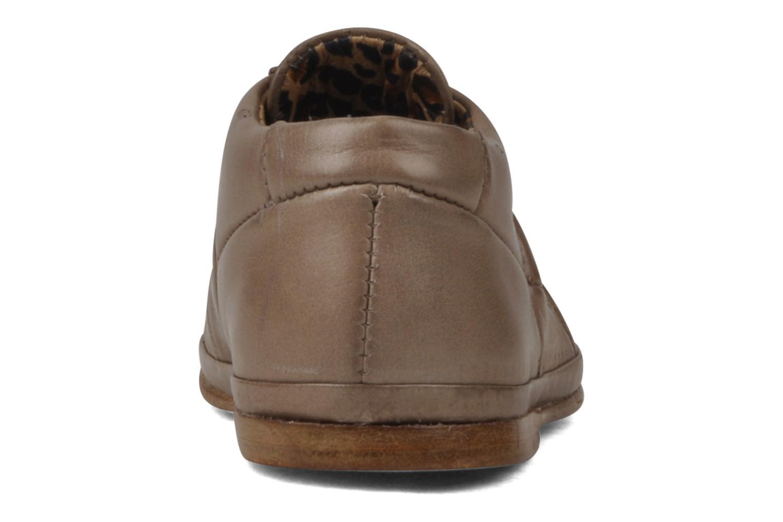 Bottines et boots Free Lance Layette Football Marron vue droite