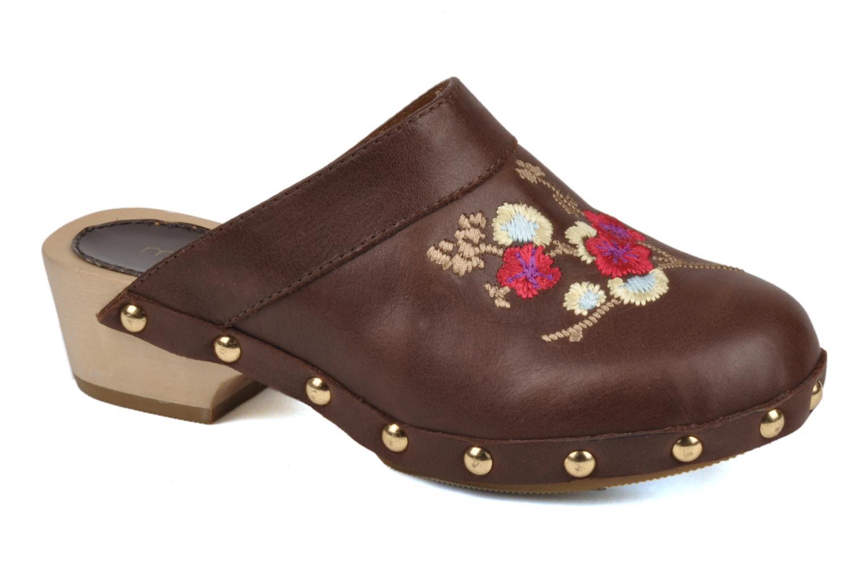 Sandales et nu-pieds Mellow Yellow Minihokkaido Marron vue détail/paire