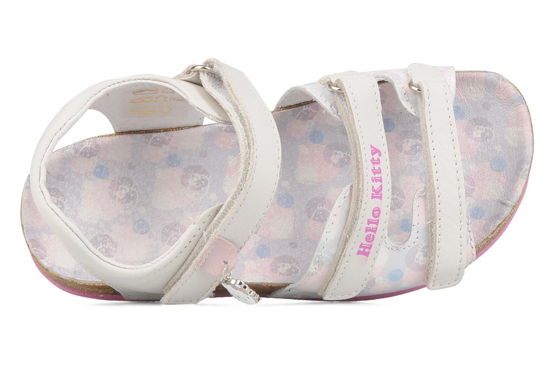 Sandales et nu-pieds Hello Kitty Kijou Blanc vue gauche