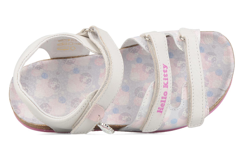 Sandali e scarpe aperte Hello Kitty Kijou Bianco immagine sinistra
