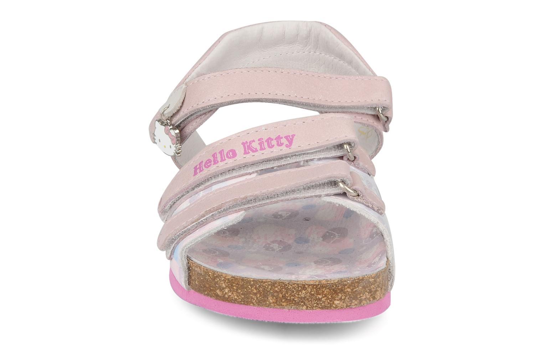 Sandalias Hello Kitty Kijou Rosa vista del modelo