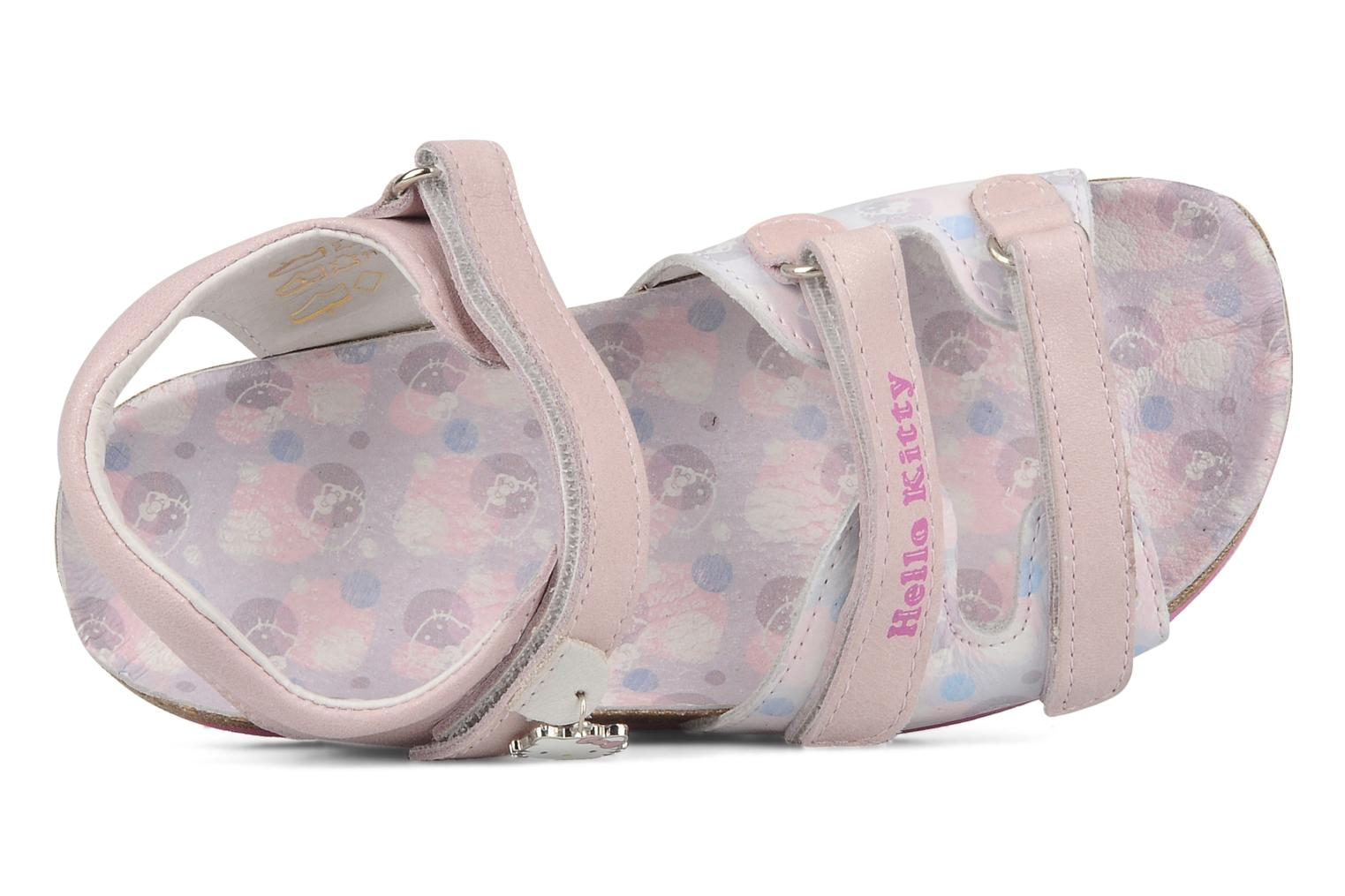 Sandalen Hello Kitty Kijou rosa ansicht von links