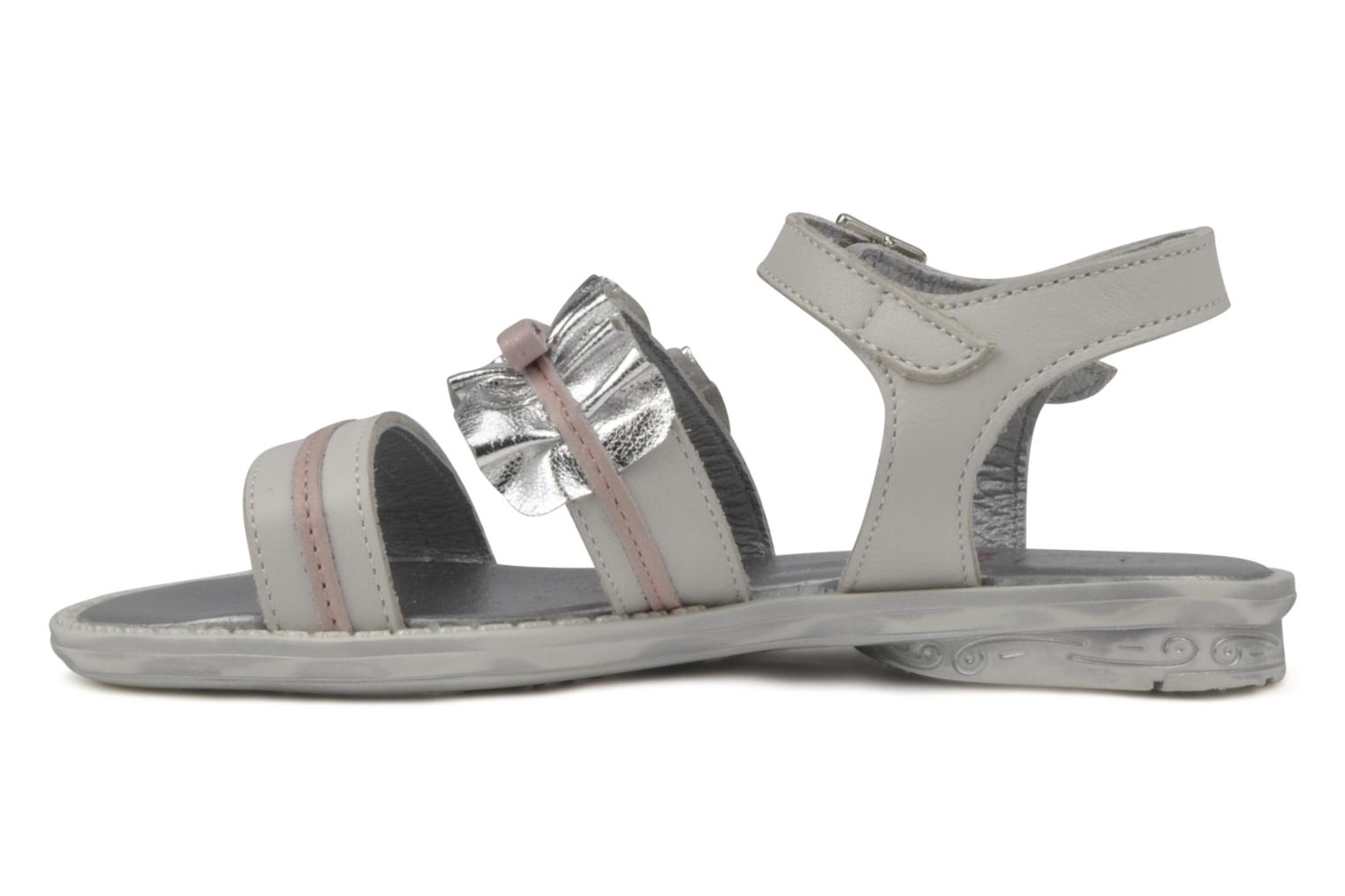 Sandals Hello Kitty Kidans White front view