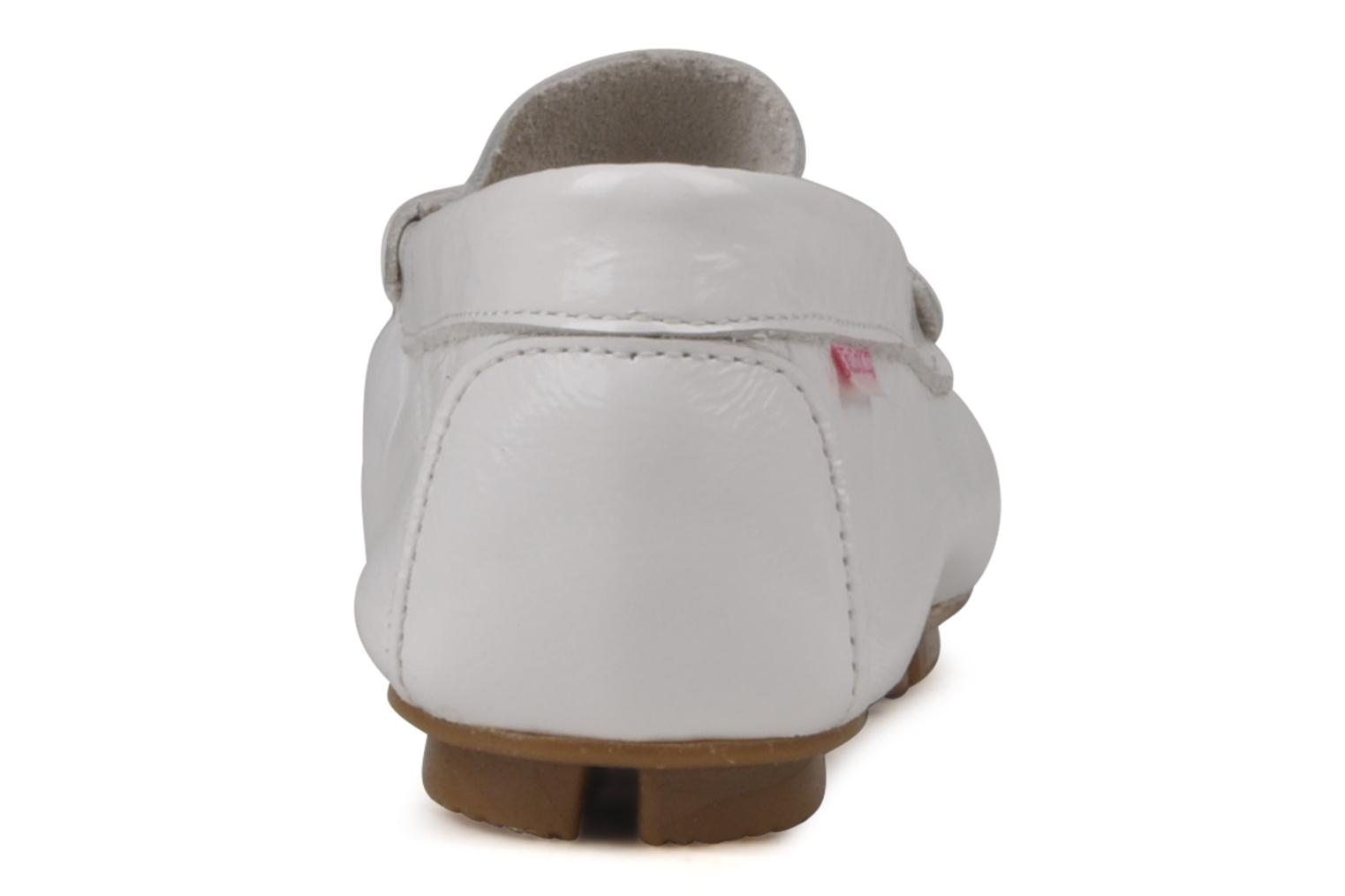 Mocasines Hello Kitty Kimoc Blanco vista lateral derecha